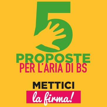 Logo 5 proposte per l'aria di Brescia