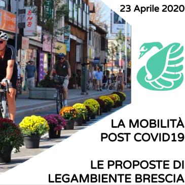 Legambiente Brescia proposte mobilita post Covid19